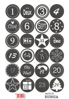 Advent calendar sticker - slate look - Calendar Advent Calendar Numbers – to check - Calendar Numbers, Calendar Stickers, Printable Calendar Template, Advent Calenders, Diy Advent Calendar, Kids Calendar, Daily Calendar, Calendar Ideas, Noel Christmas