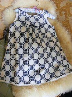 Burda 5/12 Tunic Top for a Little Lady