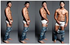 Nick Jonas Poses in Calvin Klein Underwear for Flaunt Photo Shoot image Nick Jonas Flaunt Photo Shoot 2014 001 800x520