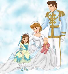 Queen Cinderella & Family