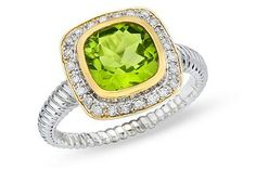 Peridot.  This looks very Jude Francis. I am repinning, so not sure.