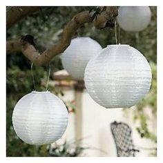 Chinese Lanterns outside