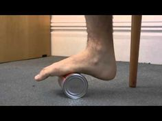 Achilles Tendonitis - How to video for 3 exercises - heel raises on step, can roll on hurtful areas for 20 seconds, and wall lean