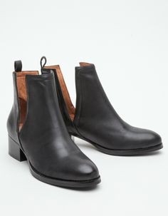 Jeffrey Campbell Oriley in Black in Black (black leather) | Lyst