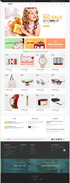 All in One Multipurpose New #Prestashop Theme #eCommerce #Shopping