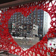 Resultado de imagem para valentine's day window display