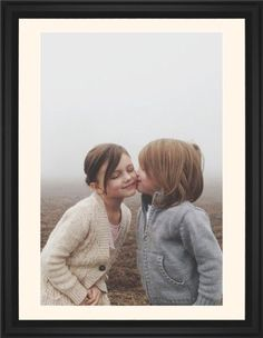 Photo Gallery Framed Print, Black, Classic, White, Cream, Single piece, 24 x 36 inches