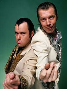 Lenny and Squiggy. I loved Laverne and Shirley when I was little. I even knew the little song in the opening. These guys were my favorites. I was seriously a weirdo.