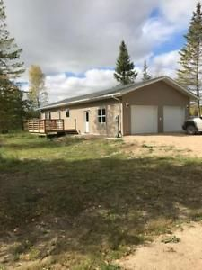 New Home on 14 Beautiful Acres Near Steinbach Acre, Shed, New Homes, Real Estate, Canada, Outdoor Structures, Cabin, Vacation, House Styles