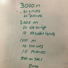 This is a great rowing workout to break up a big meter target, like the kind you might have during a rowing challenge. Keep in mind that heavy cardio, even on a rowing machine, will eat into your s...