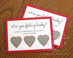 diy scratch off valentine printable- perfect for the kids!
