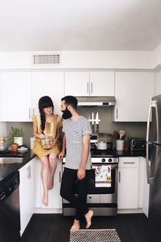 New Darlings - Recent Snaps - Minimal kitchen - couples style