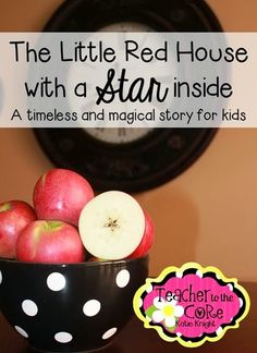 Little Red House with a Star Inside storytime activity