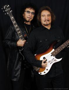 Black Sabbath's. Tony Iommi and Geezer Butler