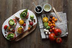 My Garden Fresh Favorites   3 Tomato Recipes   Recipe   Caprese Skewers   Joanna Gaines   Waco, TX