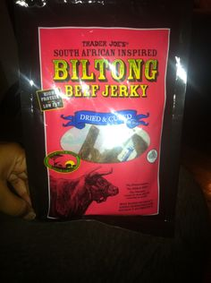 Trader joes has biltong jerky? Was curious to try. Biltong, Trader Joes, Cereal, African, Food, Products, Essen, Trader Joe's, Meals