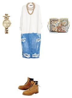 """""""Untitled #843"""" by elenekhurtsilava ❤ liked on Polyvore featuring One Teaspoon, MANGO, Charlotte Russe, Timberland, Dolce&Gabbana, Tommy Hilfiger and Givenchy"""