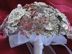 I want to make brooch bouquets so bad but I have no idea how to make them for under $1000 dollars! Ahh!