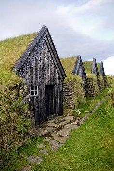 Petites maisonnettes traditionnelles