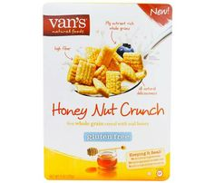 Start Tomorrow Off Right With One of These Under 200-Calorie Cereals. Van's Natural Foods Honey Nut Crunch: 3/4 cup = 120 cals. #SelfMagazine