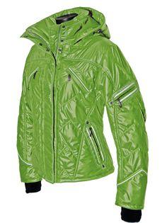 The Emmegi high fashion ski jacket.  #designer #ski #jacket.