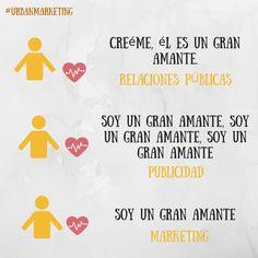 Diferencias entre #publicidad, #marketing y #relacionespublicas.