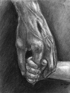 Jesus Christ hold child's hand.