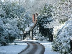 Ragley Hall in winter.  Must go...