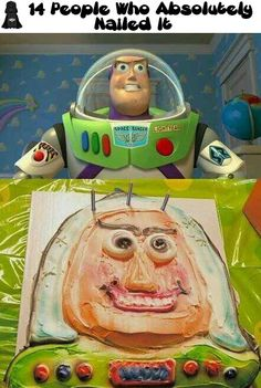 14 People Who Absolutely Nailed It I'm laughing SO hard right now just looking at Buzz's face.
