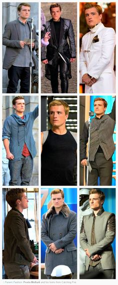 *sigh* I'm not ashamed to admit that I LOVE Peeta. Such a wonderful character how can anyone NOT love him?! Josh did a marvelous job bringing him to life.