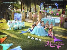 A Royal Mermaid Birthday Party | MermaiDubai