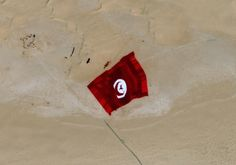 World's largest flag: Pléiades witnessed the Tunisian #record - http://www.geo-airbusds.com/en/5751-image-detail?img=36231 …
