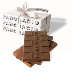 Retro-lovely package of Pancracio, Spanish chocolate company, soo stylish!