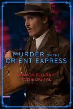 Who can be trusted? Watch Johnny Depp in Murder on the Orient Express now on Blu-ray, DVD & Digital.