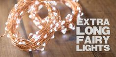Fairy Lights | Electric Plug-In Fairy Lights | Wedding Lights & Decor