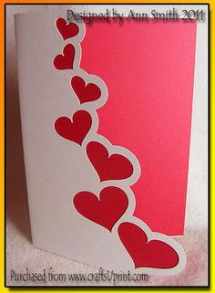 'Hearts' card - SVG