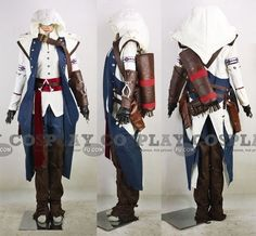 What I want to be for Halloween! Connor Costume (E177) from Assassins Creed