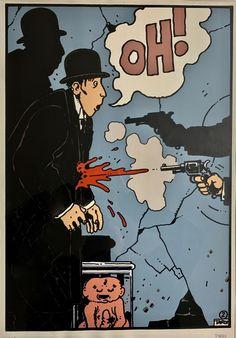 Auguste Herbin, Maltese, Album Tintin, Angry Cartoon, Blake Et Mortimer, Traditional Ink, Ligne Claire, Manga, Art Plastique