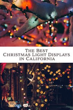 From Northern California to Southern California weve compiled our list of the best and our favorite Christmas light displays in California. Best Christmas Light Displays, Christmas House Lights, Holiday Lights, Christmas Holidays, White Christmas, Happy Holidays, Christmas Decor, California Vacation, Northern California