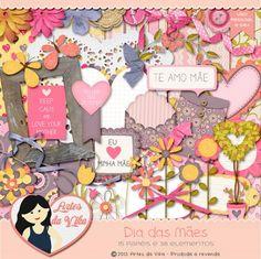 Kit Digital Dia da Mães by Vika Matos