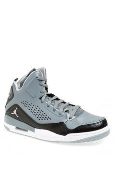 Nike Jordan Sc 3 Sneakers Men Cool Grey White Black Grey 9 5   Shoes and Footwear