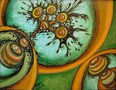Circular Abstract by dalifan-teresa