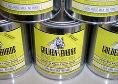 100% #Powdered  #Horse #Milk (Genghis Khan  Special) #Wal-Mart, #bizarre, #unusal, #different, #shopping, #retail, #weird