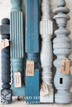 the blues… | Miss Mustard Seeds Milk Paint #mmsmilkpaint #iheartmilkpaint