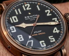 Zenith Pilot Type 20 Extra Special Bronze Watch Hands-On | aBlogtoWatch