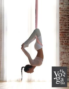 D&A Flying Yoga | Aerial Yoga #YogaRoutinesandPoses