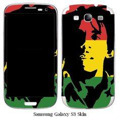 Bob Marley Samsung Galaxy S3 Vinyl Skin