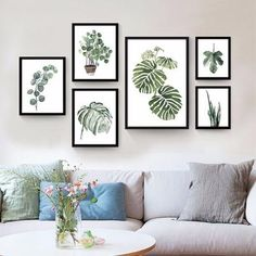 Cheap canvas art print poster, Buy Quality art print poster directly from China wall pictures Suppliers: Watercolor Tropical Plant leaves Canvas Art Print Poster , Nordic Green Plant leaf rural Wall Pictures for Home Decoration Living Room Pictures, Home Pictures, Wall Pictures, Decorating With Pictures, Decoration Pictures, Canvas Art Prints, Painting Canvas, Watercolor Painting, Spray Painting
