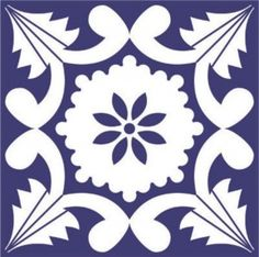 Estampa portuguesa para azulejo antigo