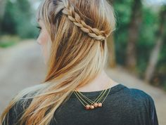 Braid and hair